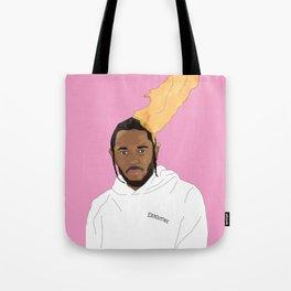 Kendrick Lamar, Pink Tote Bag