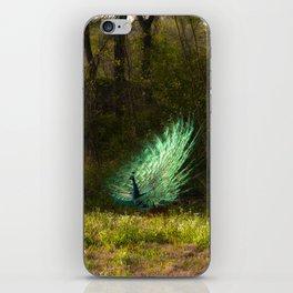 The Peacock iPhone Skin