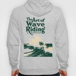 The Art of Wave Riding 1931, First Surfing Book Artwork, for Wall Art, Prints, Posters, Tshirts, Men, Women, Kids Hoody