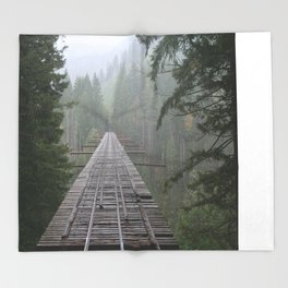 That NW Bridge - Vance Creek Viaduct. Throw Blanket