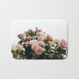 Climbing Roses at International Rose Test Garden Bath Mat