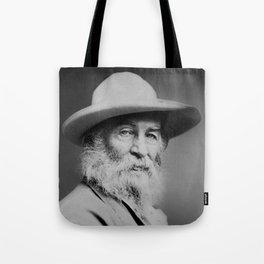 Walt Whitman Portrait Tote Bag