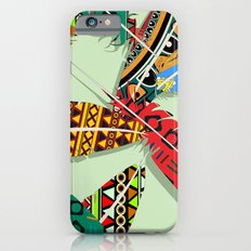 Boho Feather Pattern 2 Slim Case iPhone 6s