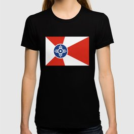 Flag of Wichita, Kansas T-shirt
