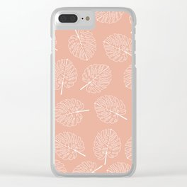I've Created A Monstera Clear iPhone Case