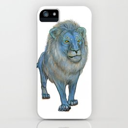 The Wise Lion iPhone Case