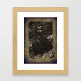 Love Died Framed Art Print