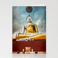 thailand Stationery Cards featuring Buddha Thailand by Adrian Evans