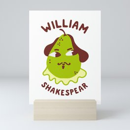 Funny William ShakesPear Mini Art Print