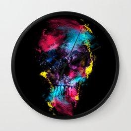 Skull - Space Wall Clock
