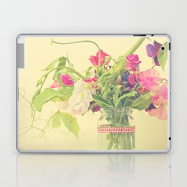 Sweet peas Laptop & iPad Skin