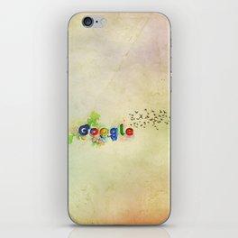 Google wallpaper iPhone Skin