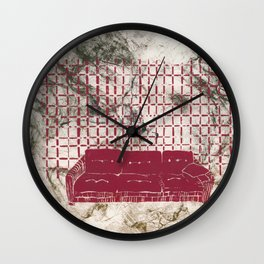 Just Relax Wall Clock