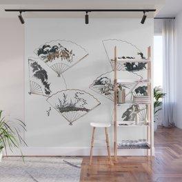 Mutamagawa senmen harimaze Hokusai Katsushika Ukiyo-E Japanese Wall Mural