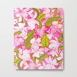 Pink Wonder #society6 #decor #buyart Metal Print