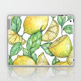 Watercolor Lemon Pattern Laptop & iPad Skin