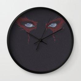 Eyes #1 - Zombie Wall Clock