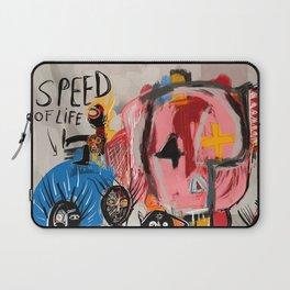 """The speed of life"" Street art graffiti and art brut Laptop Sleeve"