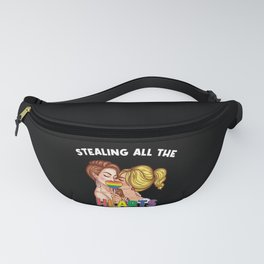 LGBTQ Stealing All The Hearts Popart Fanny Pack
