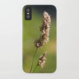 Mountain Grass iPhone Case