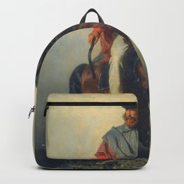 Filippo Palizzi - Garibaldi (Garibaldi on horseback) Backpack