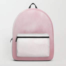Pink watercolour Backpack