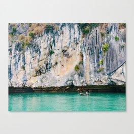 Fisherman in Halong Bay Fine Art Print  • Travel Photography • Wall Art Canvas Print