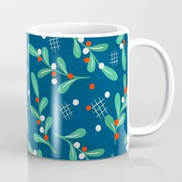 Misseltoe -  christmas pattern no1 Coffee Mug
