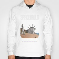 planet of the apes Hoodies featuring Spaceballs: Planet of the Apes by Preston Porter