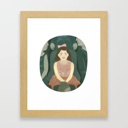 At the Theater Framed Art Print