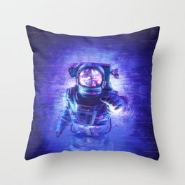 Transmission Error Throw Pillow