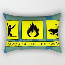 Hazards of the Fire Swamp Rectangular Pillow