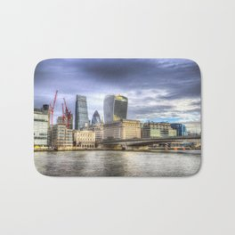 City of London and River Thames Bath Mat