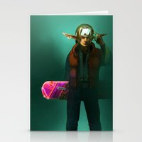 mcfly Stationery Cards featuring Link McFly by Foxxen