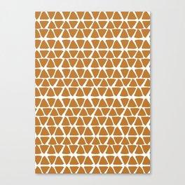 Triangel Pattern Canvas Print