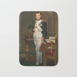 Emperor Napoleon in His Study at the Tuileries Bath Mat