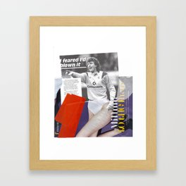 Football Fashion #3 Framed Art Print
