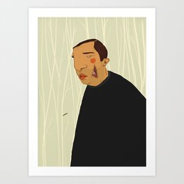 Slice Art Print