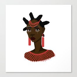 Nsukka woman Canvas Print