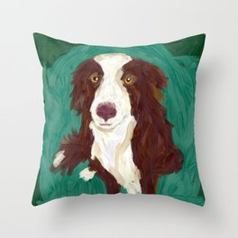 Rupert - the worry wart Throw Pillow