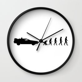 Evolution of time travel Wall Clock