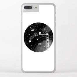 Make a wish Clear iPhone Case