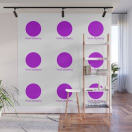 Vivid Mulberry Wall Mural