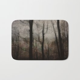 Darkness in the Forest Bath Mat