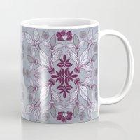 hibiscus Mugs featuring Hibiscus by Azulblau