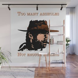 Clint Eastwood Wall Mural