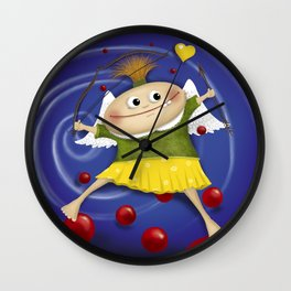 My little cupid.. Wall Clock