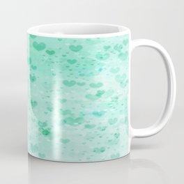 A Sea Of Floating Hearts Coffee Mug