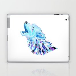 The Howling Wolf Laptop & iPad Skin