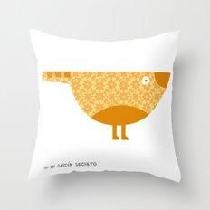 KOKORO (orange) Throw Pillow